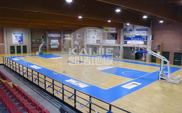 篮球馆实木运动地板出现问题怎么处理-篮球馆地板
