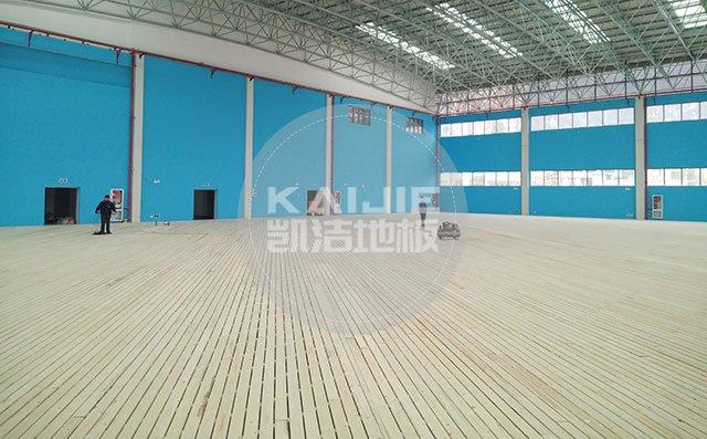第21届上海国际地材展,凯洁地板展示新实力-运动地板厂家