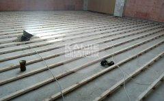 河北邢台天一府体育馆木地板项目-运动木地板