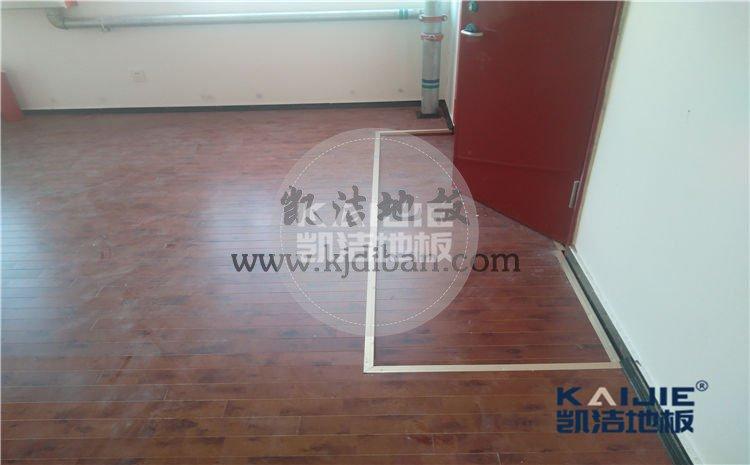 山东省莱州市中华武校体育馆木地板项目