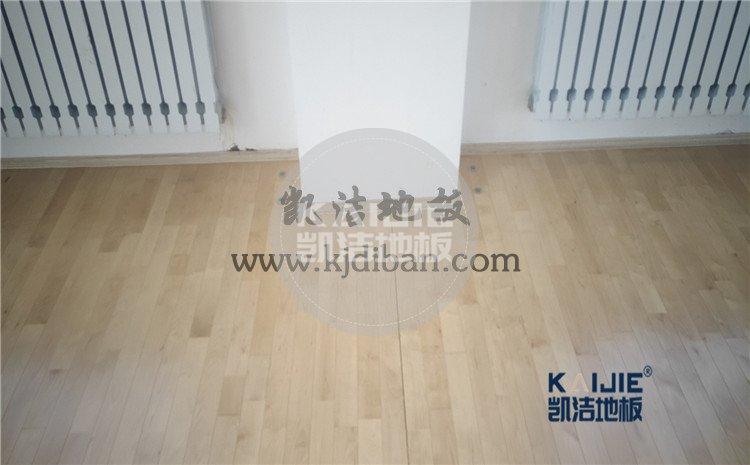 内蒙古鄂伦春旗大杨树林业局全民健身中心木地板案例