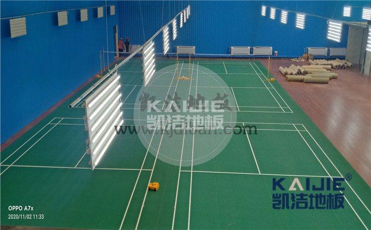 北京市海淀区铁盟物流篮球馆和羽毛球馆木地板案例