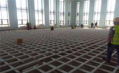 篮球馆专用运动木地板怎么进行干燥