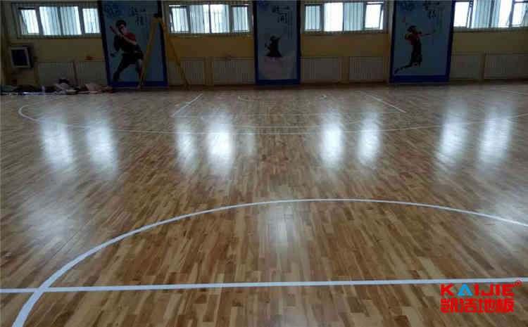 枫木木地板篮球馆一般多少钱?-凯洁地板