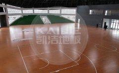 体育馆专用运动木地板的结构