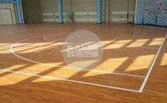 专用篮球场木地板品牌排行榜-凯洁地板