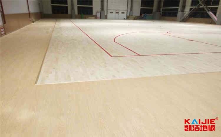 指接板篮球场木地板厂家哪家好?-凯洁地板