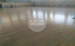 体育馆木地板毛地板怎么安装