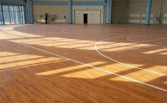 篮球场木地板怎么防变色