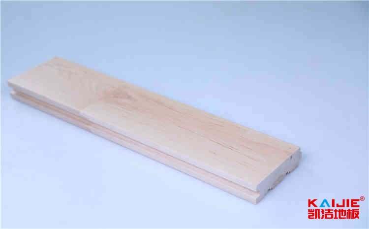俄勒冈松运动体育地板安装工艺-凯洁地板