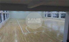 私人篮球馆木地板每平米价格-凯洁地板