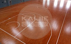 郑州市综合体育馆木地板