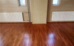宁夏运动木地板施工