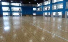 龙海篮球地板厂家