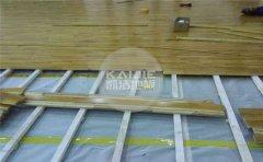大型篮球场地板保养-凯洁地板