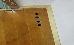 羽毛球馆木地板怎么维护-凯洁地板