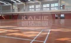 湛江室内体育馆木地板使用什么漆好
