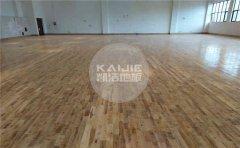 在进行运动木地板施工时地面基本要求有哪些?-凯洁地板