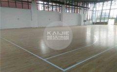 大型篮球地板价格表-凯洁地板