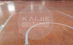 室内篮球馆实木运动地板日常怎么防水防潮