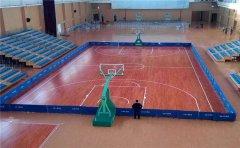 辽宁硬木企口篮球地板多少钱一平米