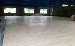 拼装舞台木地板维修-凯洁地板
