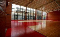 重庆柞木篮球地板厂商