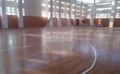 嘉峪关篮球馆木地板结构有哪些
