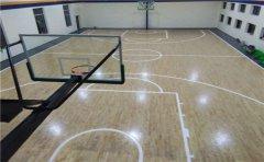 吉林企口篮球地板公司