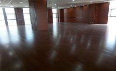 海口舞台木地板施工
