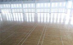 篮球场木地板铺装环境怎么检测