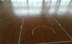 篮球木地板定制彩色-篮球木地板