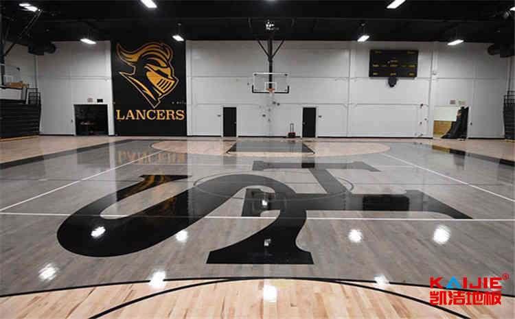 柞木风雨操场运动地板一平米价格-凯洁地板