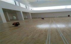 宁夏专用篮球地板安装