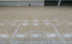 篮球场木地板如何正确施工