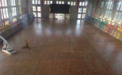 健身房运动木地板厂家-运动木地板