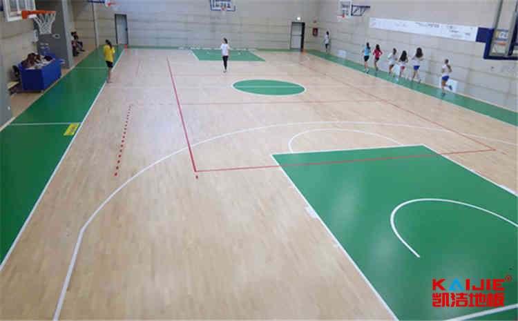 22厚体育木地板每平米价格-凯洁地板