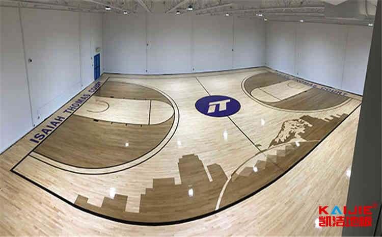 24厚乒乓球馆木地板一平米价格-凯洁地板