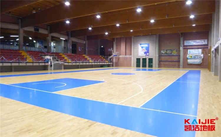 五角枫篮球运动地板批发价格-凯洁地板