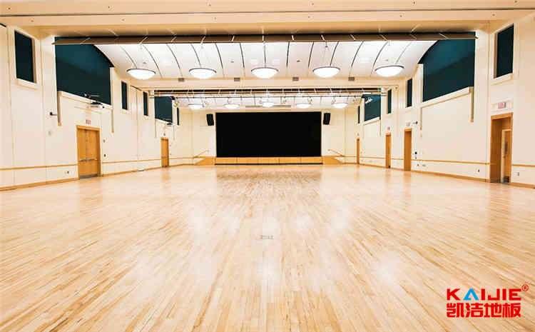 橡胶木实木运动地板怎么翻新-凯洁地板