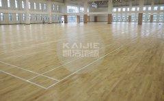 项城篮球木地板厂家安装