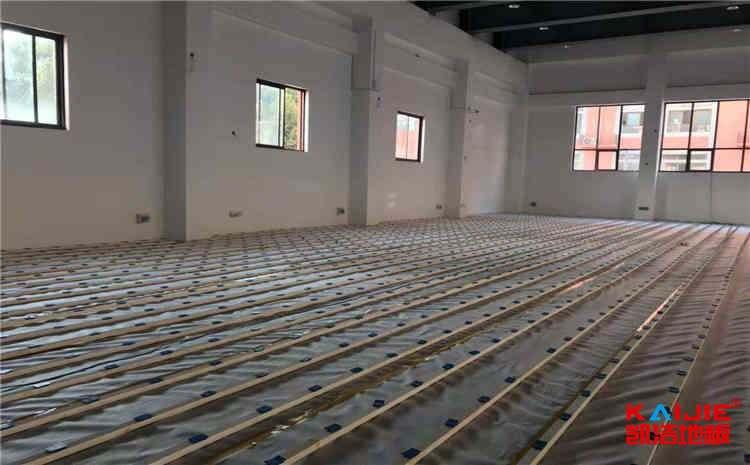 俄勒冈松体育运动地板批发价格-凯洁地板
