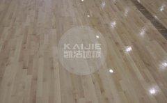 池州体育馆木地板安装