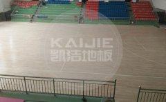 满洲里篮球馆单层龙骨地板厂家-凯洁地板