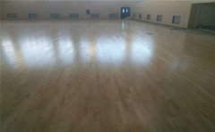 健身房、羽毛球馆为什么用专用体育木地板