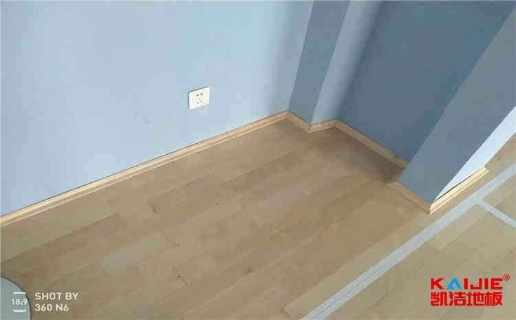 24厚木地板篮球场施工技术方案-凯洁地板