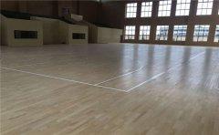呼和浩特枫桦木篮球地板结构-凯洁地板