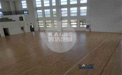 体育馆木地板结构和价格-凯洁地板