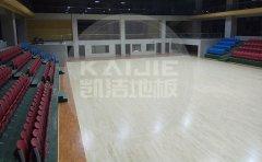 双辽市篮球木地板结构怎么安装