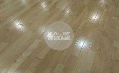 厂家的体育木地板厚度是多少-凯洁地板